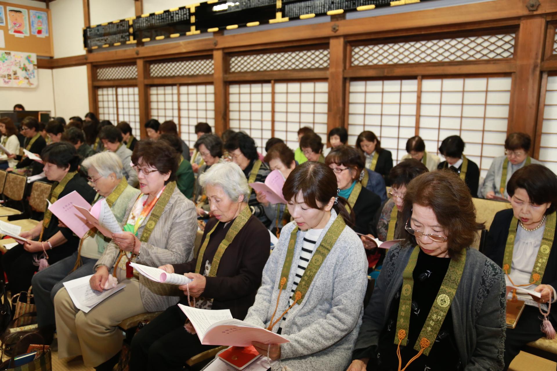 婦人会の総会を開催しました